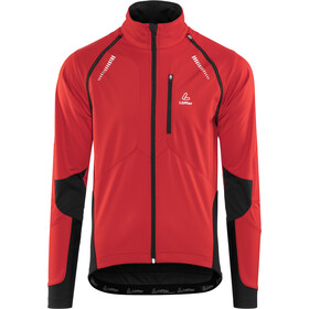 Löffler San Remo Windstopper Softshell Bike Zip-Off Jacket Men, red